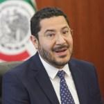 Foto: El presidente de la Mesa Directiva del Senado, Martí Batres, respalda a AMLO tras amenaza de Trump de imponer nuevos aranceles a México, mayo 31 de 2019 (Twitter: @MorenaSenadores)