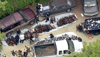 FOTO Descubren más de mil armas en mansión de Los Ángeles, California (Los Angeles Times 9 mayo 2019)
