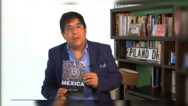 """Foto:El investigador mexicano Rafael Pérez y Pérez crea el programa de inteligencia artificial """"Mexica"""", 1 mayo 2019"""