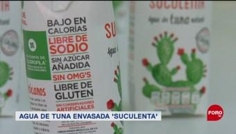 FOTO: Mexicanas llevarán agua de tuna al mercado internacional, 26 MAYO 2019