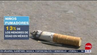 Foto: Tabaquismo Niños Menores Salud 30 Mayo 2019