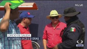 FOTO: México deporta a migrantes cubanos