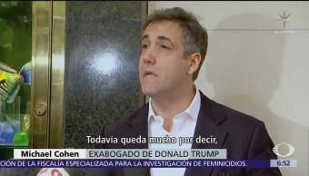 Michael Cohen, exabogado de Trump, ingresa a prisión