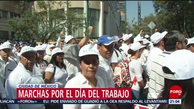 FOTO: Miles marchan por el Día del Trabajo en México, 1 MAYO 2019