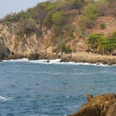 Rescatan cuerpo de turista que se ahogó en Puerto Escondido, Oaxaca