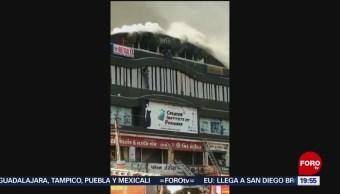 Foto: Mueren Estudiantes Avientan Incendio Edificio India 24 Mayo 2019