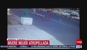 FOTO: Mujer muere atropellada en Apizaco, Tlaxcala, 1 MAYO 2019
