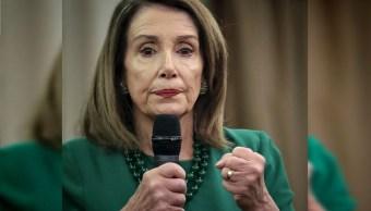 Foto: La presidenta de la Cámara Baja de Estados Unidos, Nancy Pelosi, 9 mayo 2019