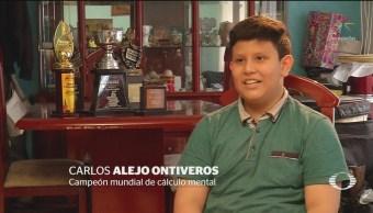 Foto: Niño Ayuda Representar México Calculo Mental 20 Mayo 2019