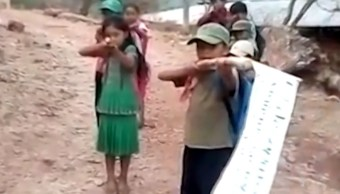 Difunden video de niños y niñas que anuncian su integración a la CRAC-PF