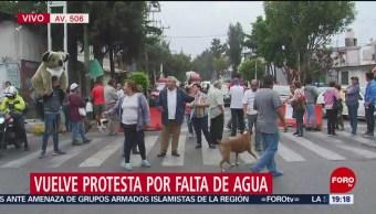Foto: Protesta Bloqueo Falta Agua Gam CDMX 24 Mayo 2019