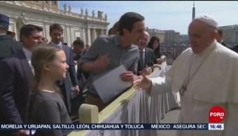 FOTO: Papa convoca a jóvenes economistas para plantear cambio en el modelo socio-económico actual