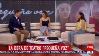 'Pequeña Voz' se presenta en el Teatro Milán, en CDMX