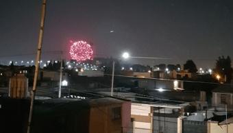 Foto Celebran fiesta religiosa con pirotecnia, pese a contingencia ambiental 15 mayo 2019