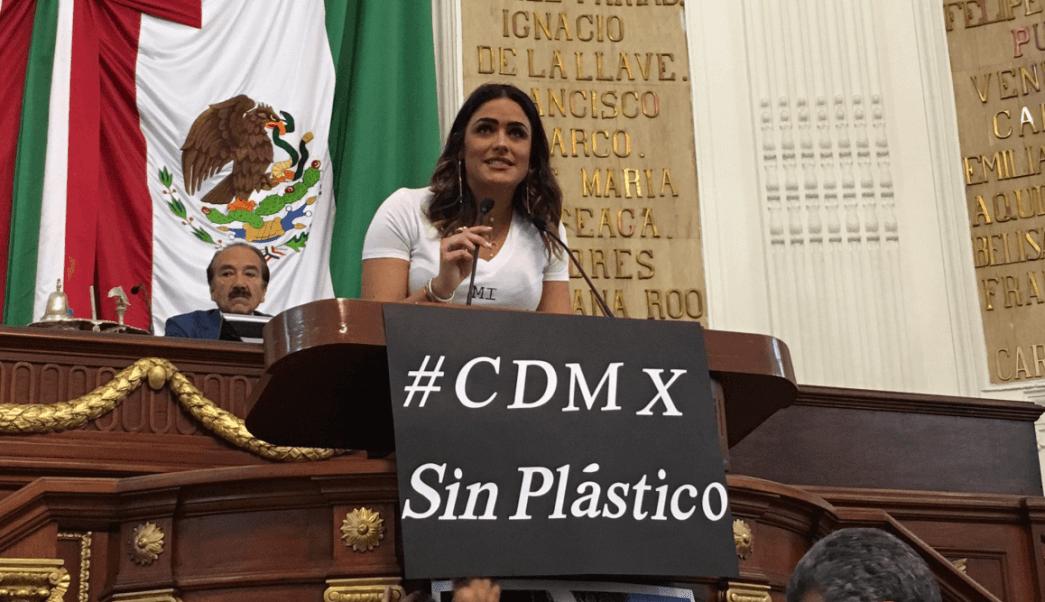 FOTO Plástico deberá ser reciclable en CDMX para 2021 (Twitter @Congreso_CdMex 9 mayo 2019 cdmx)