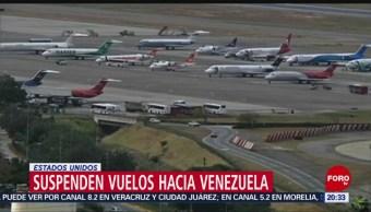 Foto: EEUU Suspende Vuelos Venezuela 15 de Mayo 2019