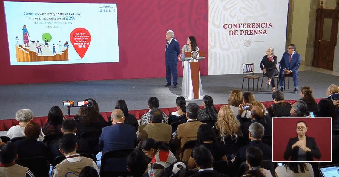 Foto: Presentan avances de Jóvenes construyendo el futuro, 10 de mayo de 2019, Ciudad de México