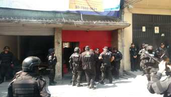 Foto Operativo en la Roma Norte por intento de despojo 22 mayo 2019
