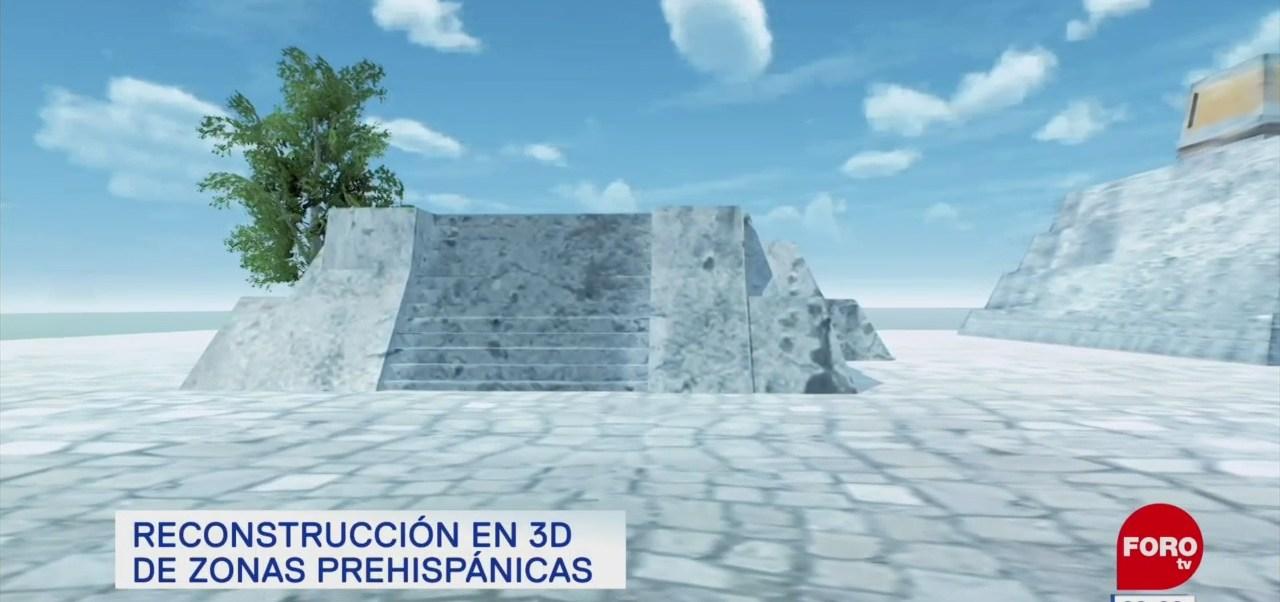 Reconstrucción en 3D de zonas prehispánicas