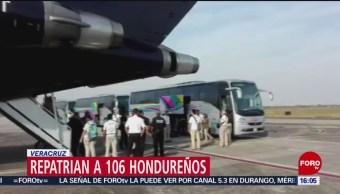 FOTO: Repatrian a 106 hondureños que se encontraban en México de manera irregular, 25 MAYO 2019