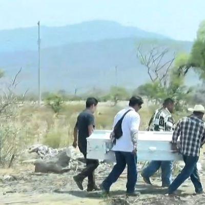 Sepultan a Aideé Mendoza, estudiante asesinada en CCH Oriente