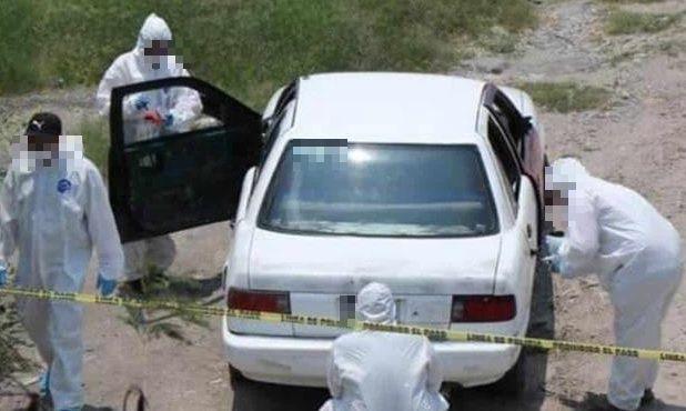 Foto: restos humanos hallados en Apodaca, NL, 21 de mayo 2019. www.elmanana.com