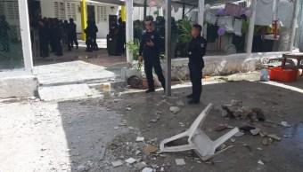 Foto: Riña en penal de Cancún, 9 de mayo 2019. Twitter @kpya