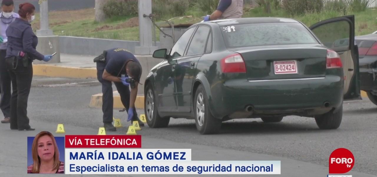 Robo a transeúntes está subiendo en CDMX, dice María Idalia Gómez