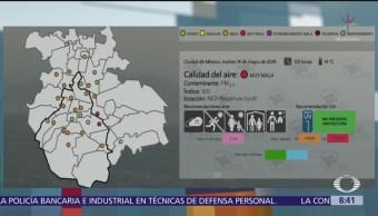 Se activa Contingencia Ambiental Atmosférica en Valle de México