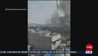 FOTO: Se registra incendio en Atizapán, Edomex, 11 MAYO 2019