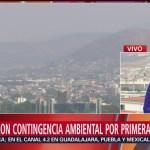 Foto: Segundo día de contingencia ambiental en Hidalgo