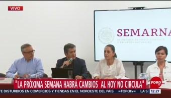 Semarnat informa sobre alerta ambiental debido a incendios en CDMX