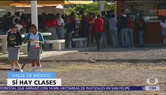 SEP mantiene clases en CDMX pero suspende actividades al aire libre