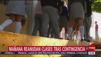 FOTO: SEP reanuda clases tras suspensión por contingencia ambiental, 19 MAYO 2019