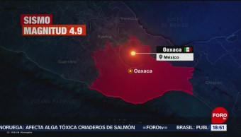 FOTO: Sismo de magnitud 4.0 se registró en Salinas Cruz, Oaxaca