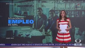Situación del empleo en abril en México