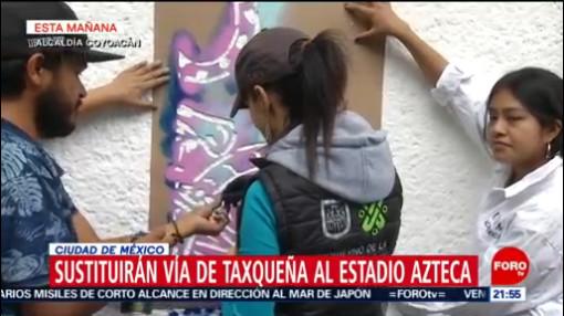 FOTO: Sustituirán vía de Taxqueña al Estadio Azteca en la Ciudad de México, 4 MAYO 2019
