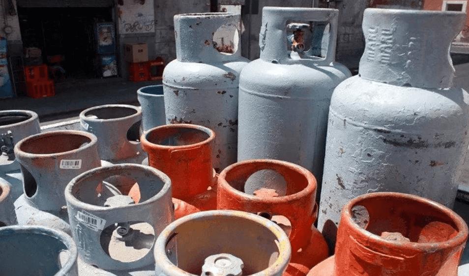 Foto: Tanques de gas en México