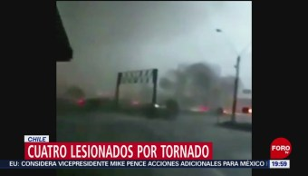 Foto: Video Tornado Chile 30 Mayo 2019