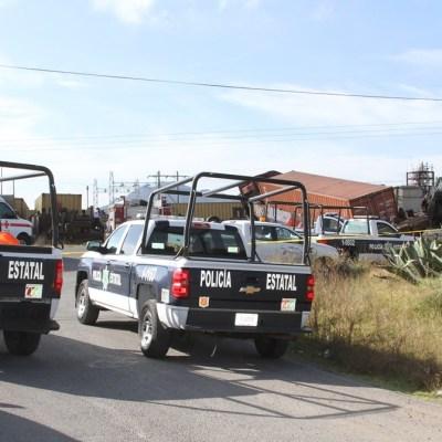 Descarrila tren de carga en Tlaxcala; hay dos lesionados