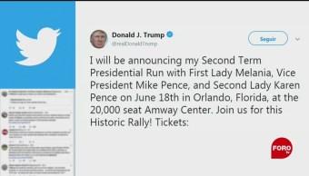 FOTO: Trump anunciará el 18 de junio su candidatura presidencial