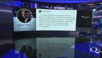 Foto: Trump Critica México Migrantes 21 Mayo 2019