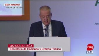 Urzúa: Finanzas públicas de México son sanas