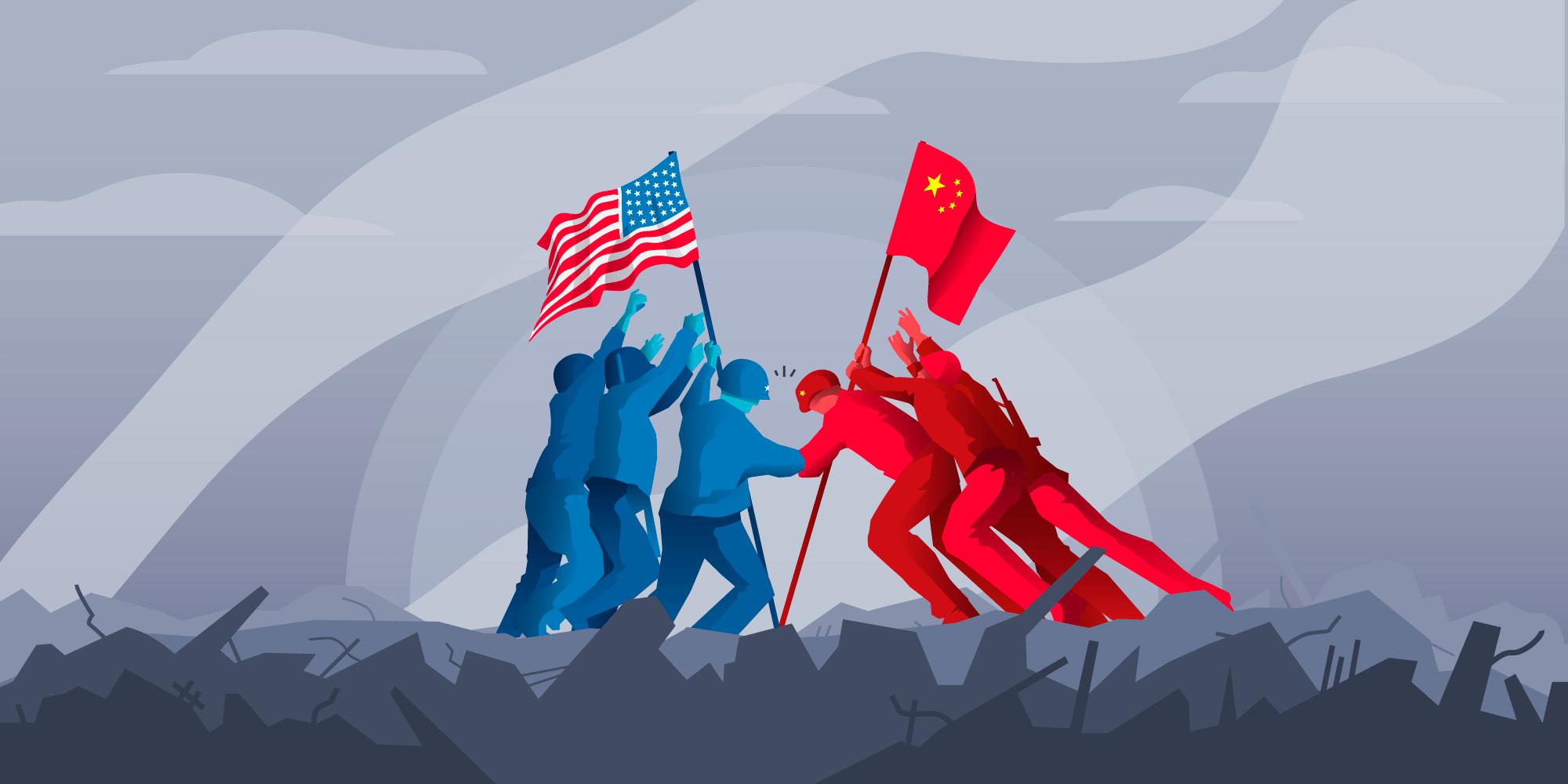 Resultado de imagen de china vs usa