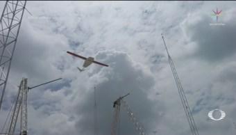 FOTO: Usan drones para enviar suministros a hospitales, 1 MAYO 2019
