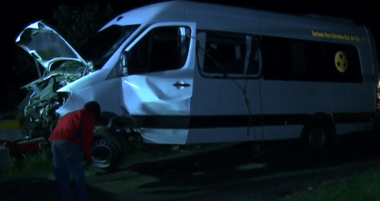 Foto: Vehículo se estrella en la México-Puebla, 27 de mayo de 2019, México