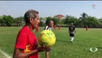Foto: Veracruz Liga Futbol Jugadores Mayores 70 Años 23 Mayo 2019