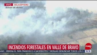 Foto: Incendios Forestales Valla De Bravo Toluca 9 Mayo 2019