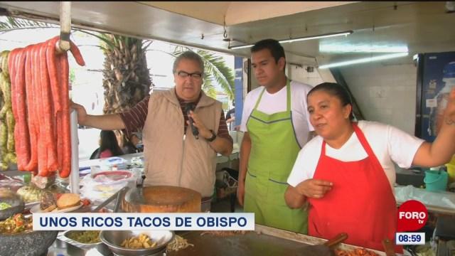Viernes Culinario: Unos ricos tacos de obispo