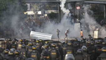 Foto Violentas protestas en Indonesia contra la reelección de Joko Widodo 22 mayo 2019